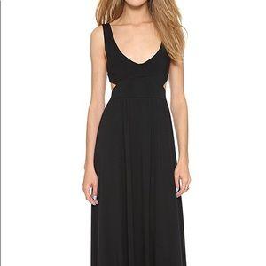 Rachel Pally cutout long maci dress in black xxs